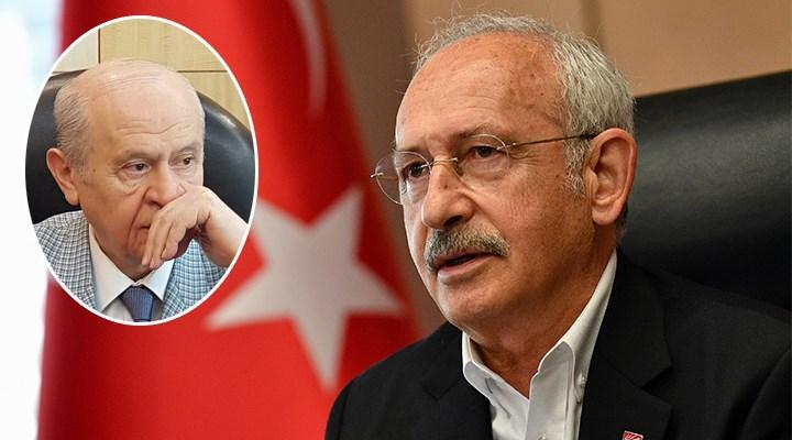 Kılıçdaroğlu: Bahçeli talimatla açıklama yapıyor
