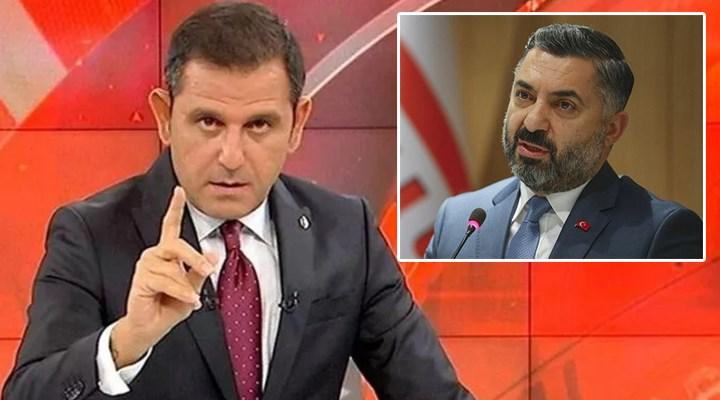 Fatih Portakal'dan sunucuları uyaran RTÜK Başkanı Şahin'e tepki