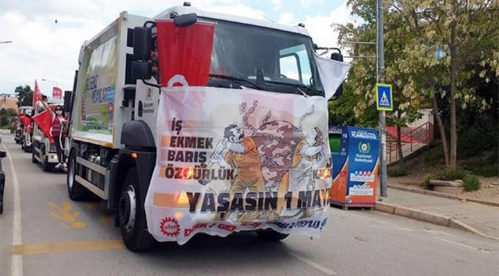 Görevli temizlik işçilerine 1 Mayıs cezası