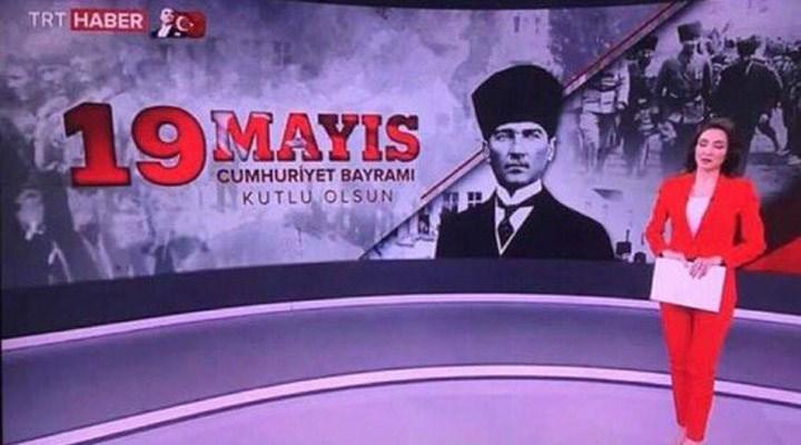 TRT bayramları karıştırdı: '19 Mayıs Cumhuriyet Bayramı'