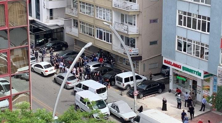 Ankara'da kayyum eylemine müdahale: HDP İl Eş Başkanı gözaltına alındı