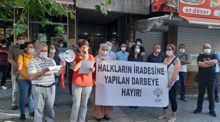 HDP İzmir İl Örgütü'nden kayyum atamalarına tepki: Kayyum darbedir