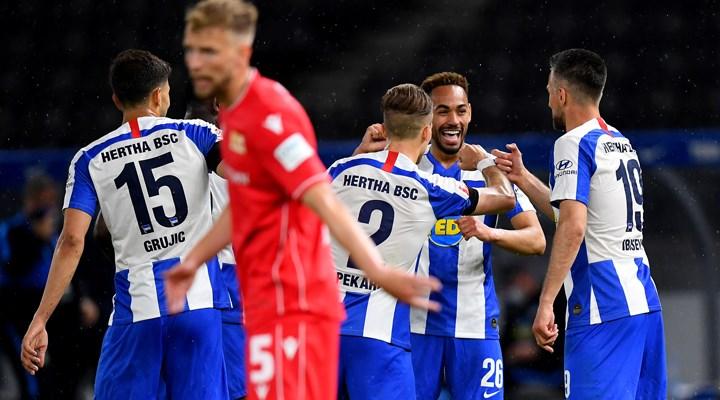 Herta Berlin'den 4 gollü galibiyet
