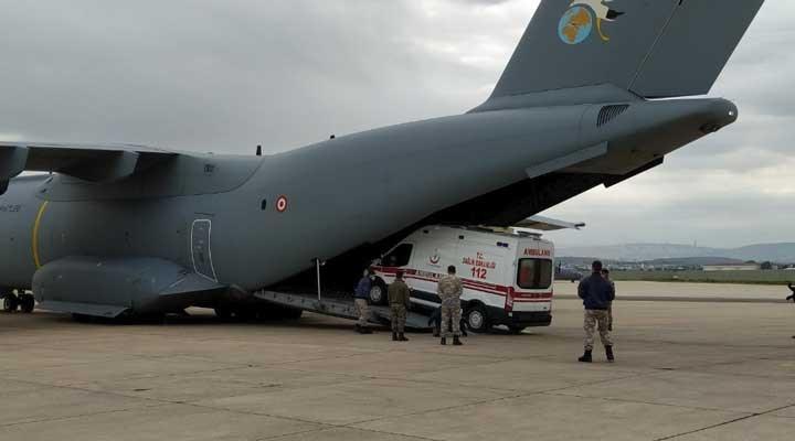 Hükümet bu kez de Çad'a tıbbi yardım malzemesi gönderdi