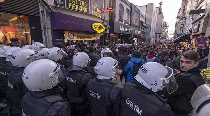 Karantinadan geriye polis şiddeti kaldı