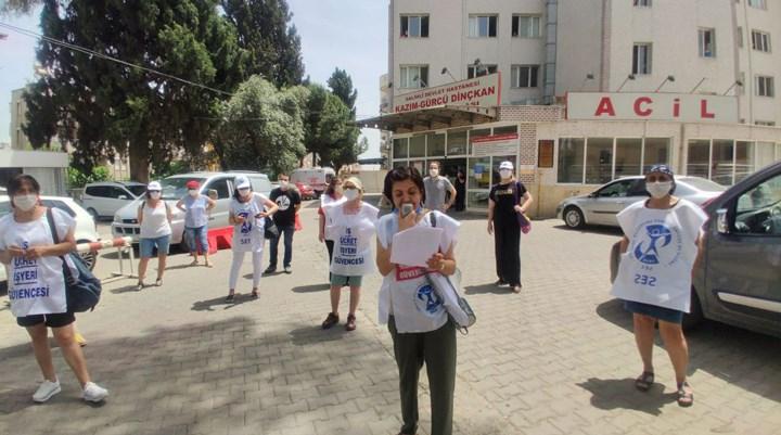 Saruhanlı Devlet Hastanesi'nde vakalar arttı, poliklinikler kapatıldı