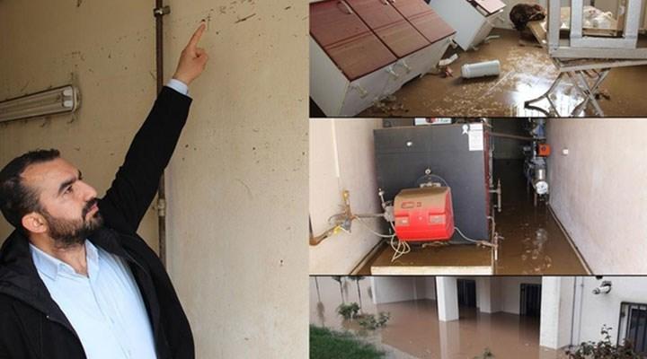 Bakan'dan su basan TOKİ açıklaması: Sular tavandan değil tabandan girdi