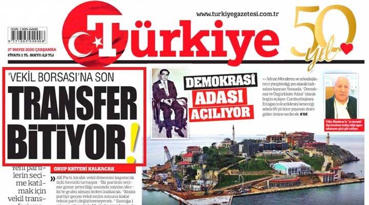 Türkiye gazetesi seçim engelini 'müjde' gibi verdi: Formül bulundu!
