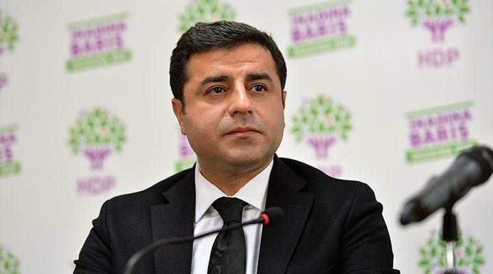 Demirtaş'ın savunması hakkında 'terör' soruşturması başlatıldı