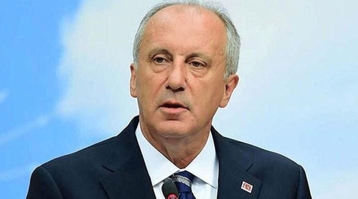 Erdoğan'ın konuşması nedeniyle sözü kesilen Muharrem İnce stüdyoyu terk etti