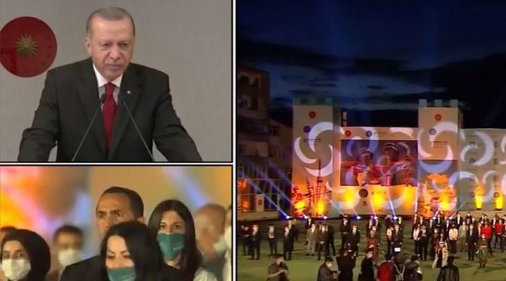 Erdoğan, Okçular Vakfı etkinliğinde konuştu