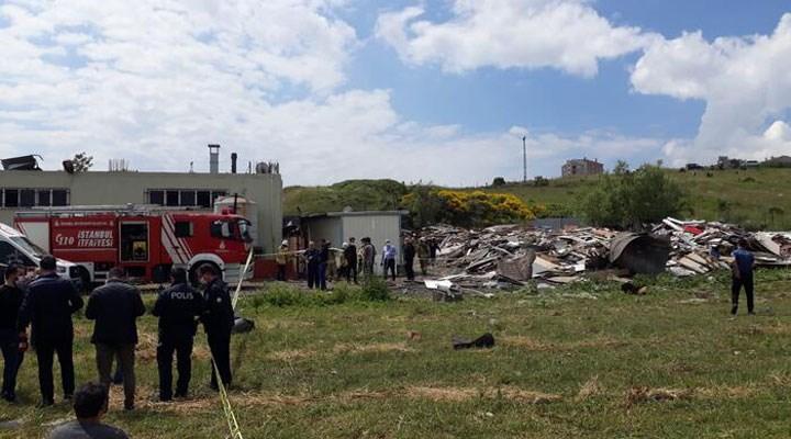 Kot yıkama atölyesinde patlama: İki kişi hayatını kaybetti
