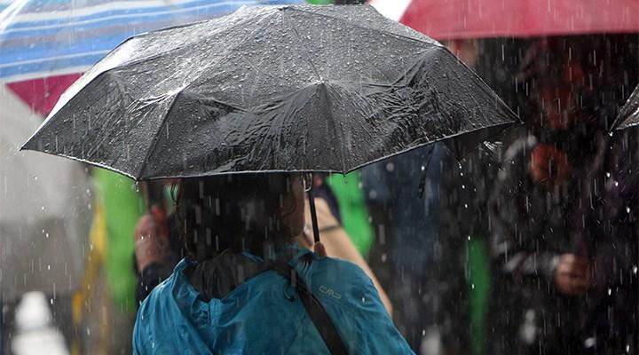 Meteorolojiden 5 bölge için sağanak yağış uyarısı
