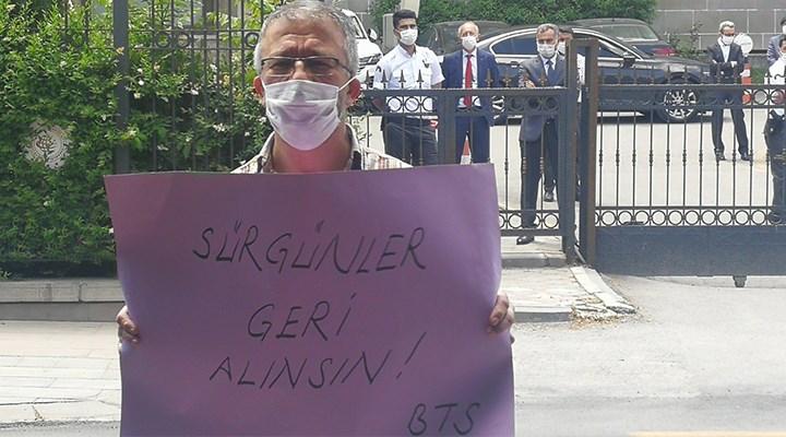 'Sürgünler iptal edilmezse Ankara'ya yürüyeceğiz'