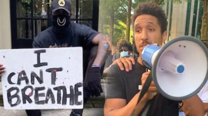 NBA oyuncuları eylemlerde: Ünlü olmak ırkçılığa karşı durmamıza engel değil