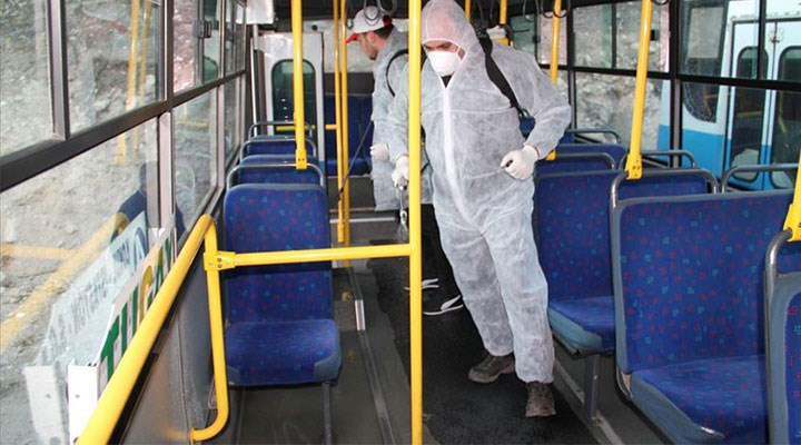 Minibüs, dolmuş ve otobüslerde alınacak Covid-19 önlemleri açıklandı