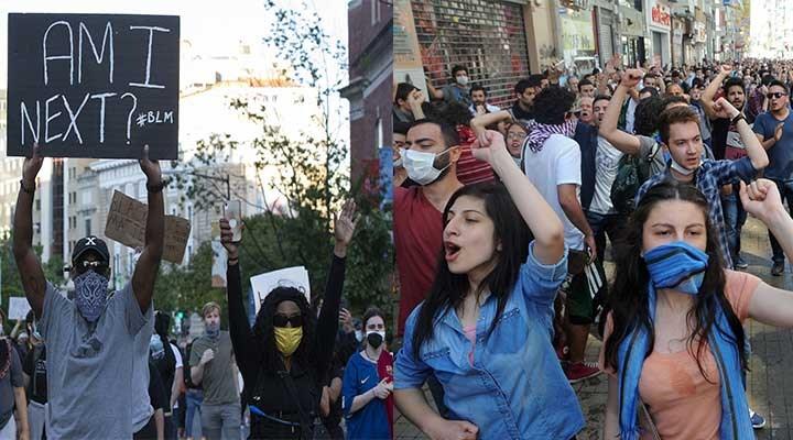 George Floyd protestoları ile Gezi'nin ortak yönü: Komplo teorileri