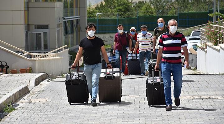 Yurtlardaki karantina dönemi sona erdi, Kasapoğlu sürecinrakamlarını açıkladı