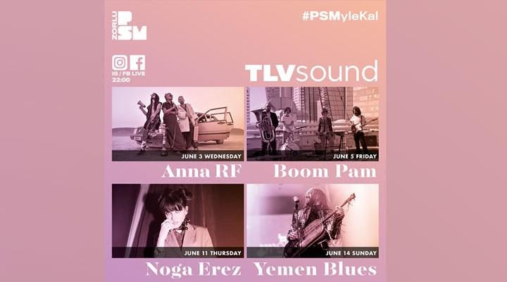 Zorlu PSM FB ve IG hesaplarında yeni dijital konser serisi: TLVSOUND