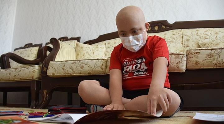 Koronavirüsü yenen 11 yaşındaki Mustafa'nın yeni hedefi lösemi