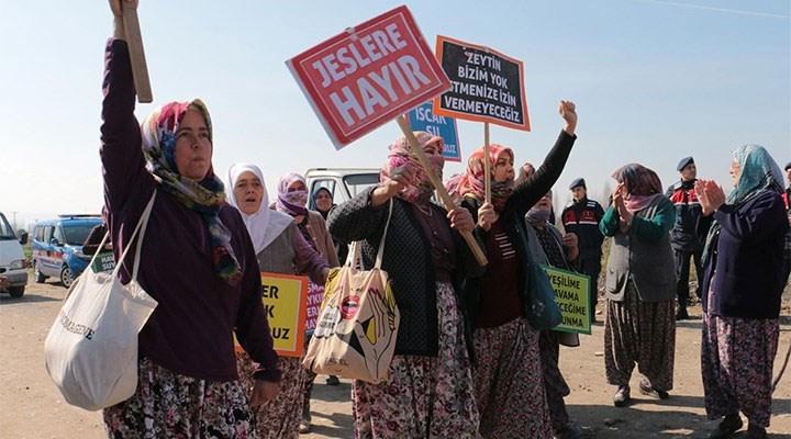 Aydın'da JES'lere karşı direnen köylülere ceza verilmesine tepki