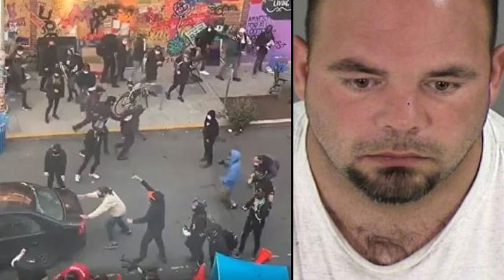 ABD'de protestocuların arasına dalıp, ateş açan kişi: Ku Klux Klan lideriyim