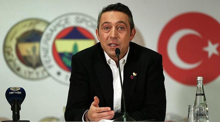 Fenerbahçe Başkanı Ali Koç PFDK'ye sevk edildi