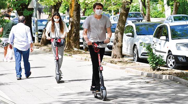 Elektrikli scooter'lar dostumuz mu?
