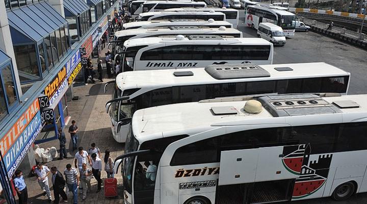 Otobüs biletlerinde uygulanacak yeni tavan fiyat tarifesi belli oldu