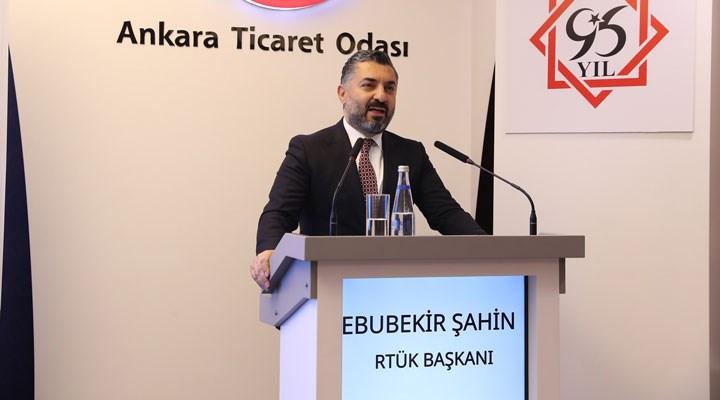 RTÜK Başkanı Şahin'e yeni gelir kapısı bulundu: Halkbank!