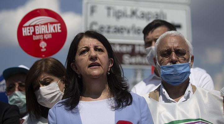 HDP'li Buldan yürüyüşün Edirne kolunu başlattı: Demokrasiye, barışa ve adalete kavuşana dek devam edecek