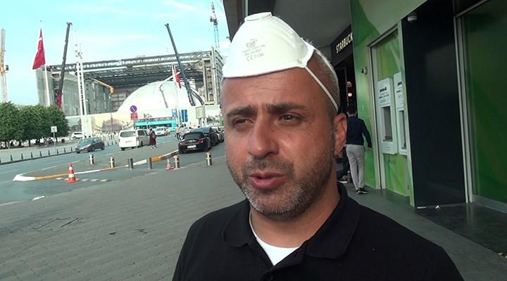 Maskeyi kafasına taktı: Bunu Avrupa düşünsün, biz güvenli ülkeyiz