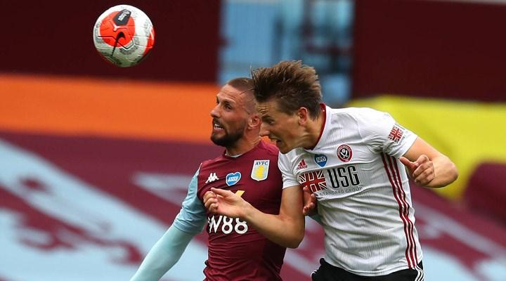 Aston Villa-Sheffield United maçında gol teknoloji sistemi bozuldu