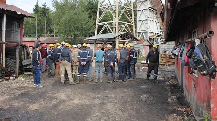 Madeni su bastı, 50 işçi ölümden döndü
