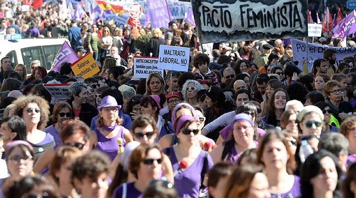 İspanya'da kadına yönelik erkek şiddeti, OHAL döneminde yüzde 57,9 arttı