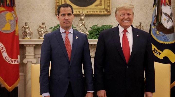 Beyaz Saray: Trump yönetiminin Guiado'ya desteği devam ediyor