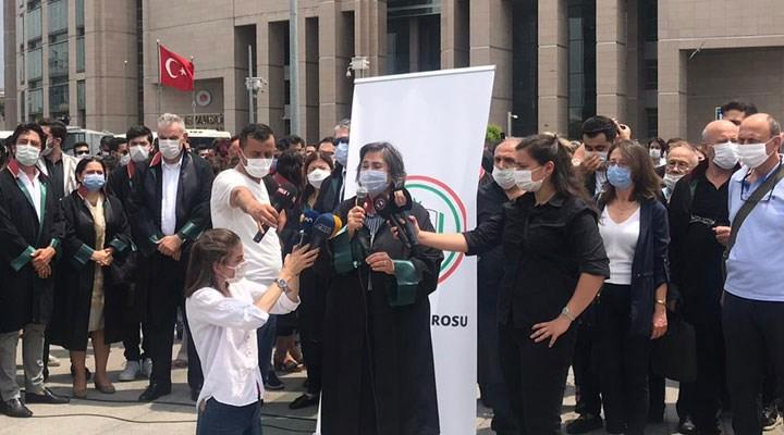 İstanbul Barosu Çağlayan'da: Bu kavga hepimizin