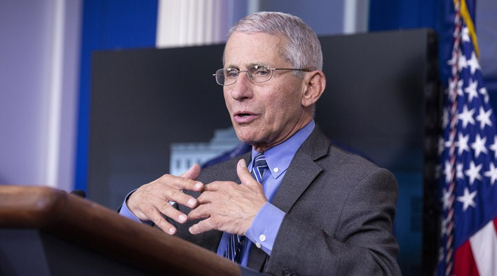 Anthony Fauci: ABD'de Covid-19 vakalarındaki artış kaygı verici