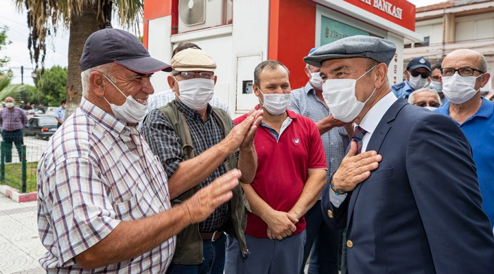 İzmir Büyükşehir Belediyesi'nden üreticilere yem desteği