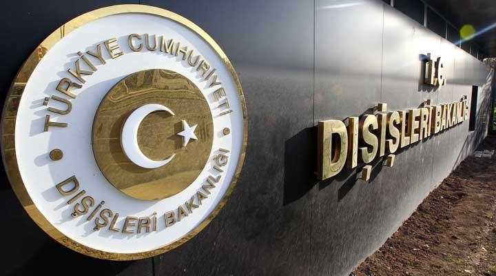 ABD Dışişleri Bakanlığı'nın 'Terörizm Raporu'na Türkiye Dışişleri'nden tepki