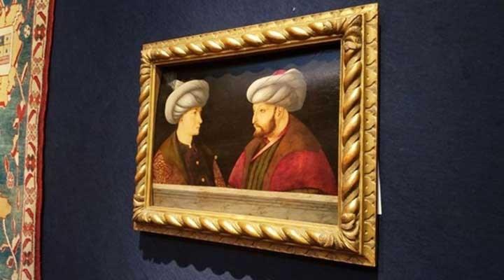 İBB, Bellini'ye ait olduğu düşünülen 'Fatih' portresini Londra'dan satın aldı