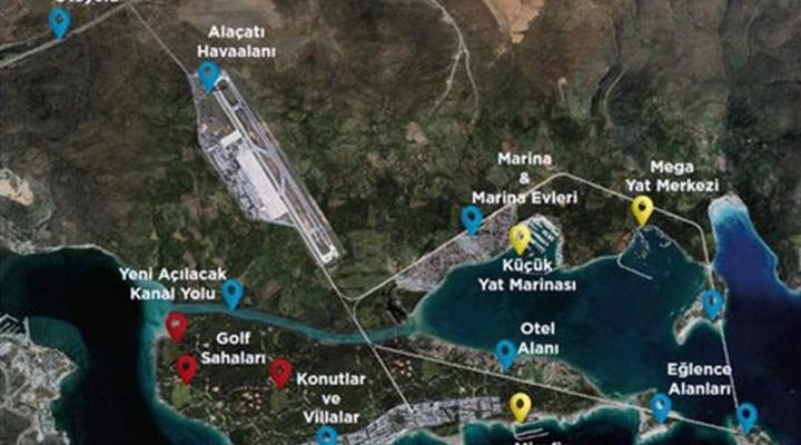 Çeşme Turizm Projesi'ne tepki