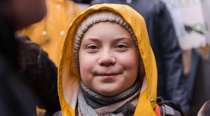 İklim aktivisti Grata Thunberg'den dünya liderlerine fotoğraf eleştirisi