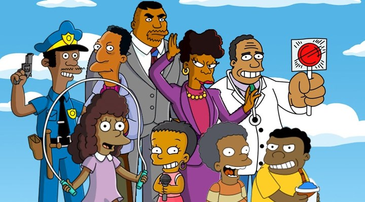 Simpsonlar dizisinde beyaz olmayan karakterleri bundan sonra beyazlar seslendirmeyecek