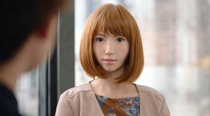 Yapay zekalı robot  'Erica' film yıldızı olacak