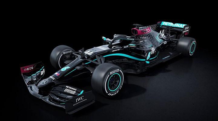 Mercedes, Formula'da ırkçılığa karşı siyah araçla yarışacak
