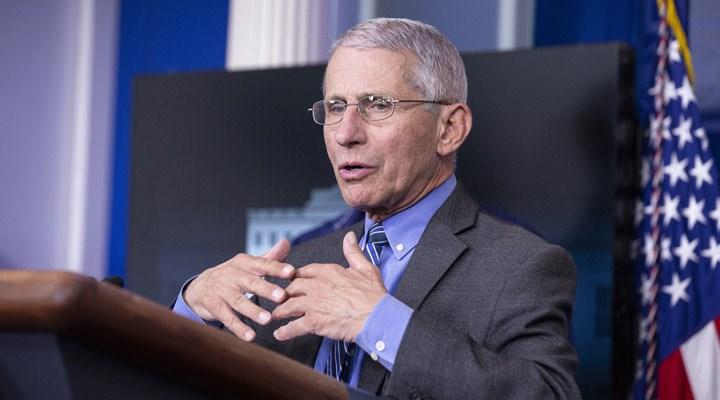 Dr. Anthony Fauci: ABD'deki günlük koronavirüs vaka sayısı 100 bine ulaşırsa şaşırmam