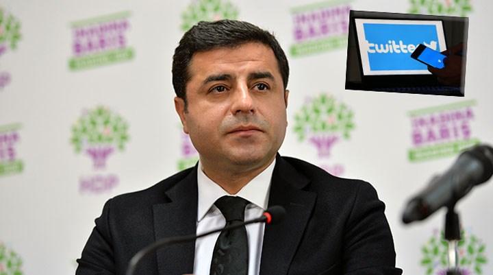 Demirtaş'ı Twitter'dan takip etmek işten çıkarılma gerekçesi sayıldı