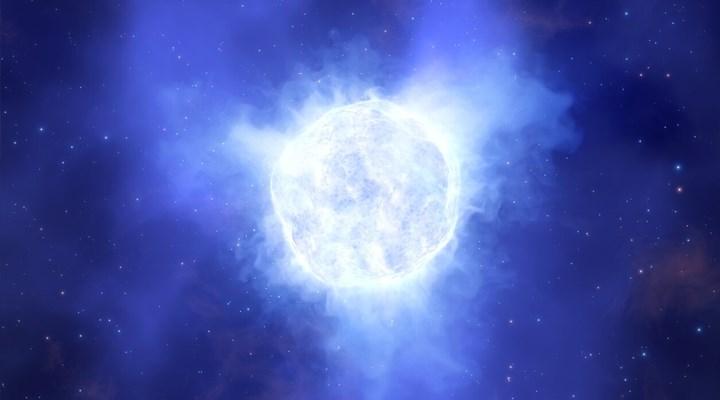 Dev yıldız sıra dışı şekilde ortadan kayboldu