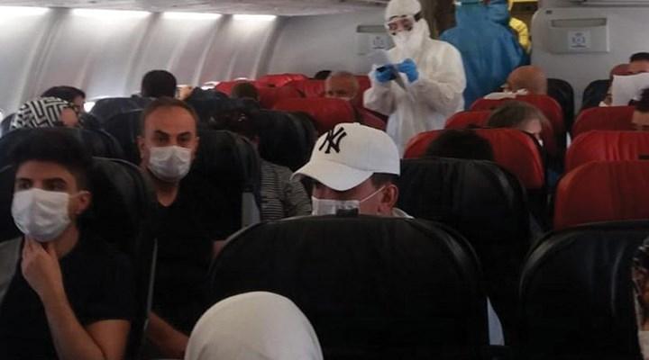 Diyarbakır – Ankara uçağında koronavirüs paniği